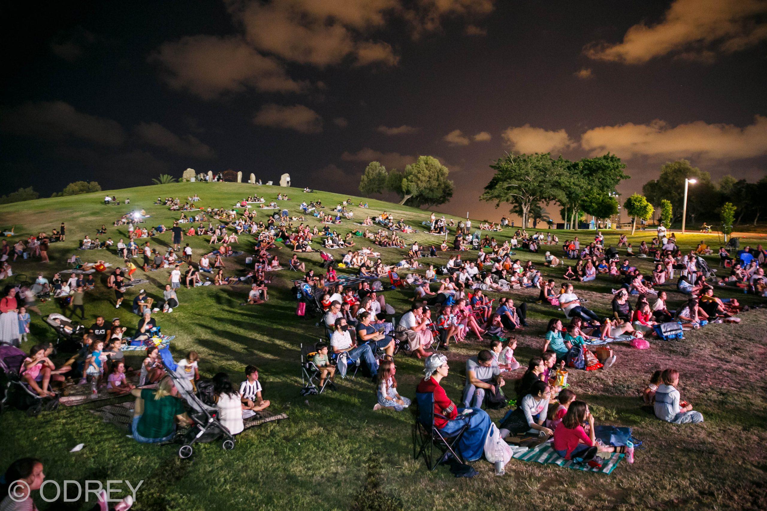 קולנוע פתוח בפארק: המסע הקורע של אבא אווזה